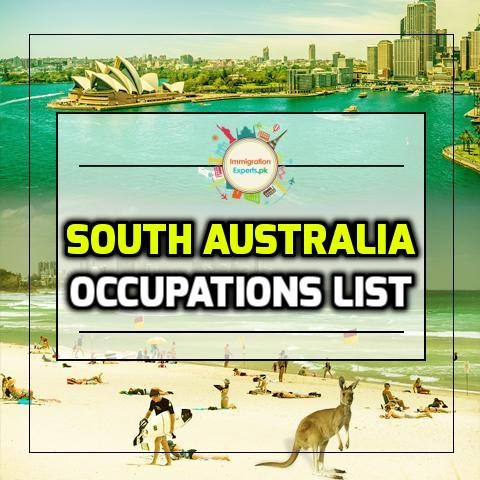 south Australia occupations list