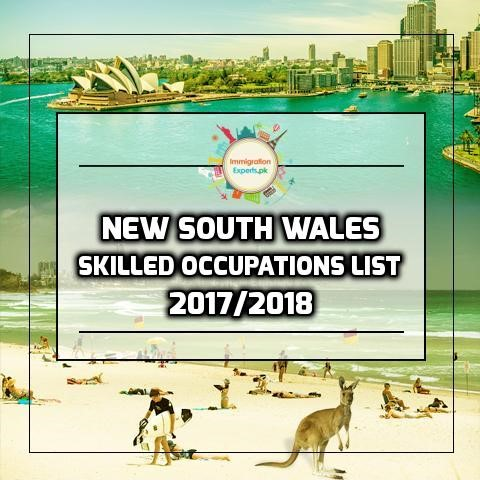 New South Wales (NSW) -Occupations List