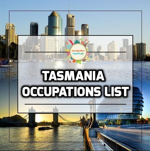 Tasmania occupations list