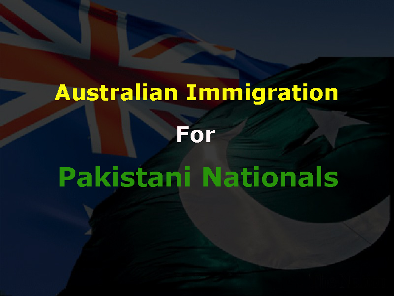 Australian Immigration for Pakistani Nationals