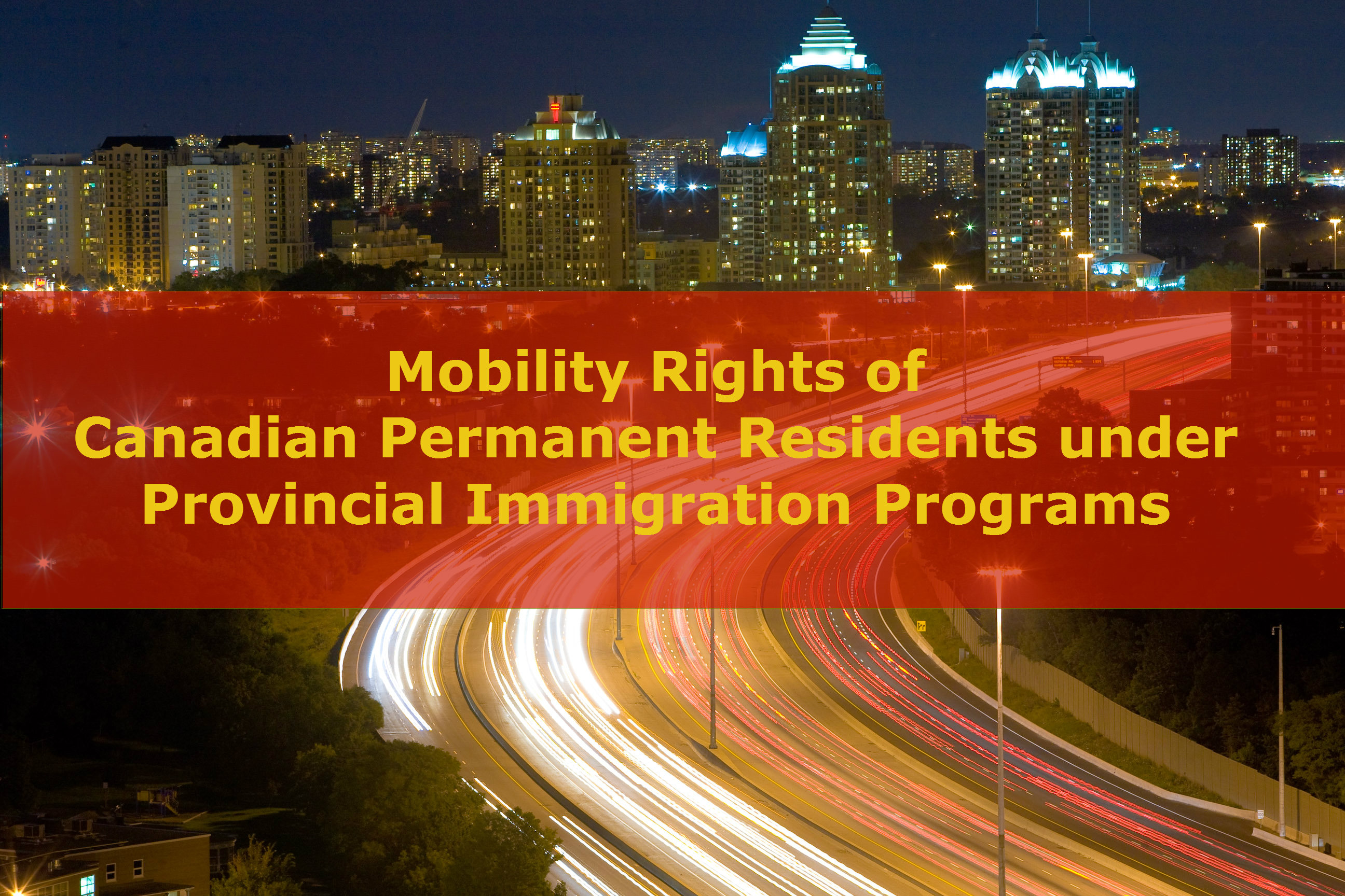 » Canadian Immigration: Mobility Rights of Canadian ...