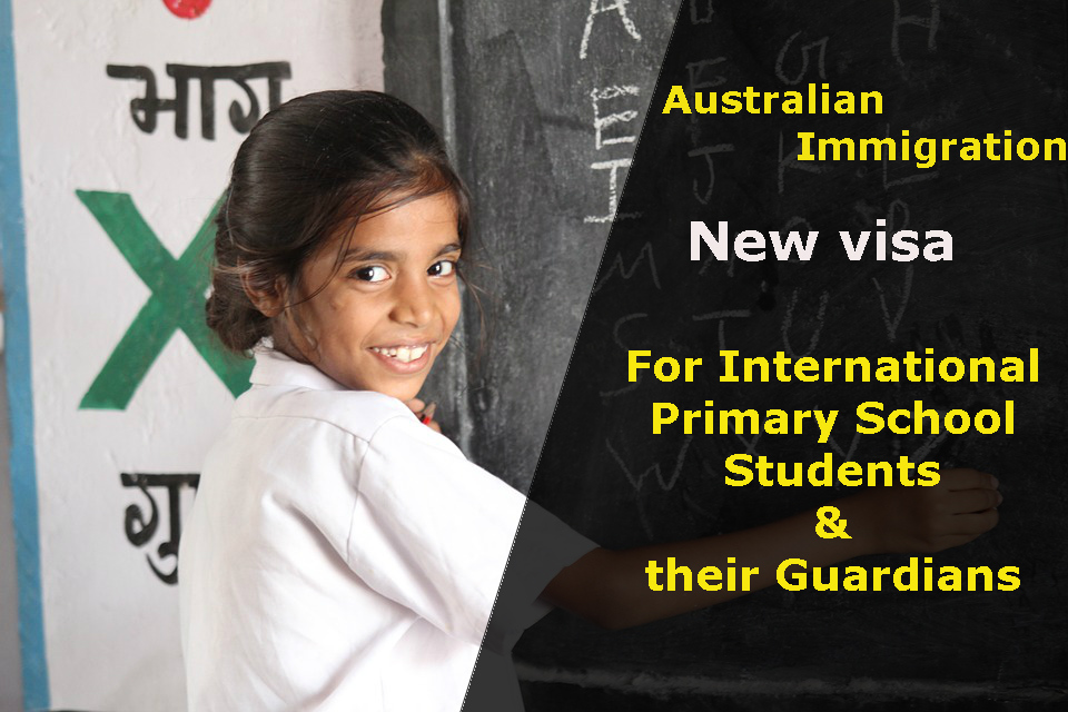 Australia New visa opens door to International Primary Students