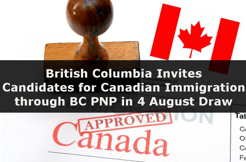 BC province issued 602 invitations