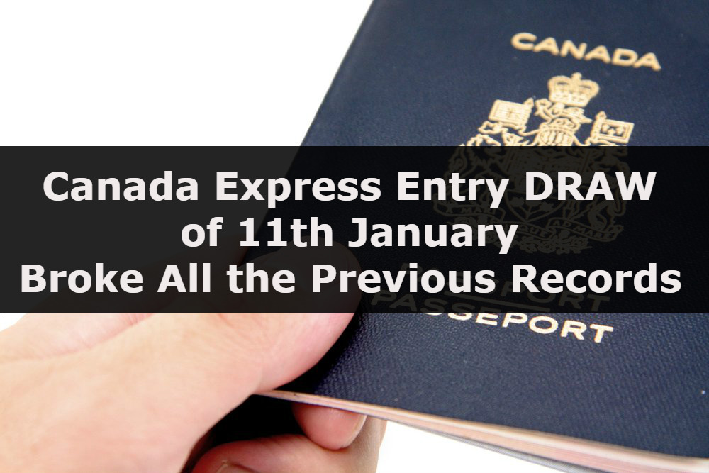 Canadian Express entry on high