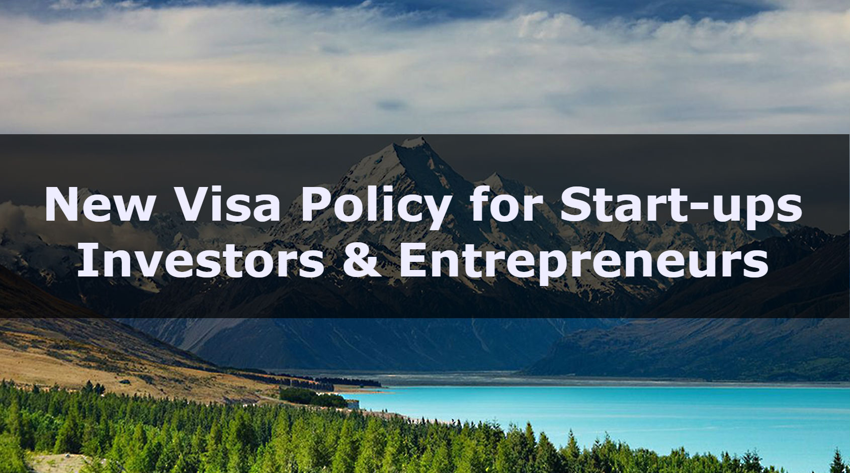 New Visa Policy for Start-ups Investors and Entrepreneurs