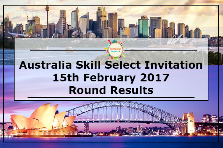 Australia Skill Select Invitation 15th February 2017 Round Results