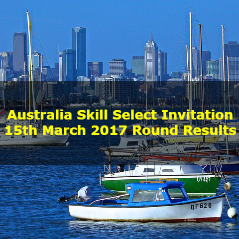 Australia Skill Select Invitation 15th March 2017 Round Results