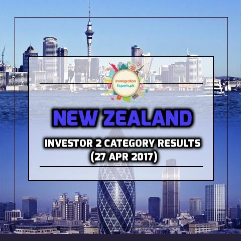 New Zealand Residence Programme – Investor 2 category Results (27 Apr 2017