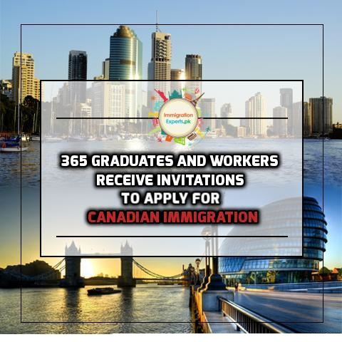 365 Graduates and Workers receive Invitations to Apply for Canadian Immigration through Latest BC Draw
