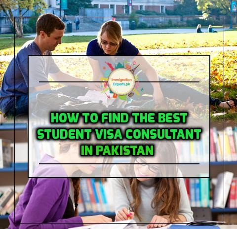 How to Find the Best Student Visa Consultant in Pakistan
