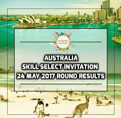 Australia Skill Select Invitation: 24 May 2017 Round Results