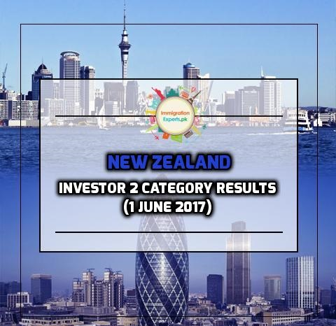 New Zealand Residence Programme – Investor 2 category Results (1 June 2017)