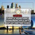 Parent and Grandparent Sponsorship Applicants Might Get Another Chance