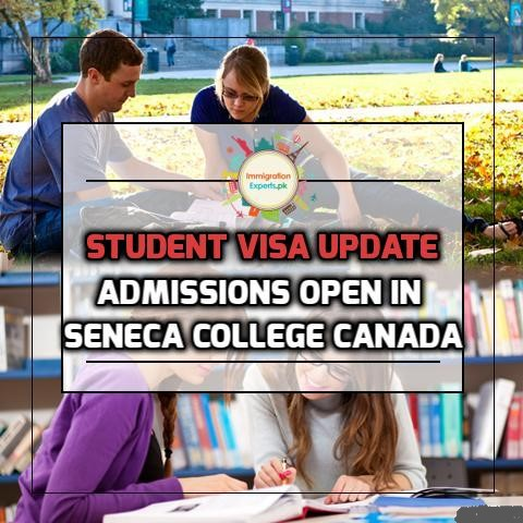 Admissions Open in Seneca College Canada