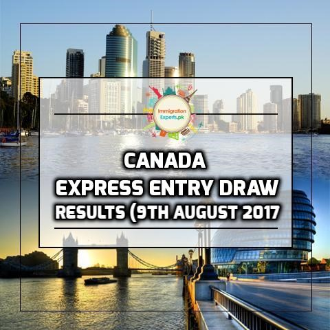 Canada Express Entry Draw Invites 2,991 Candidates On 9 August 2017