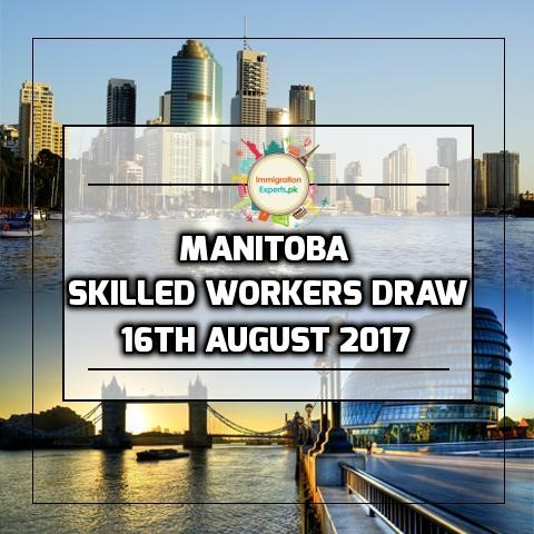 Manitoba Skilled Workers Invited to Apply for Manitoba Provincial Nomination on 15 August Draw