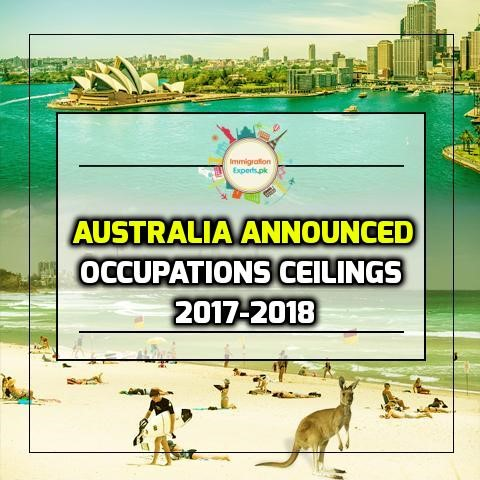 australia occupation ceiling 2017-2018