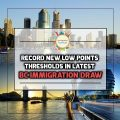BC Immigration Draw Exhibits Record Decrease In Points Requirement