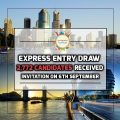 Express Entry Draw - 2,772 Candidates Received Invitation On 6th September