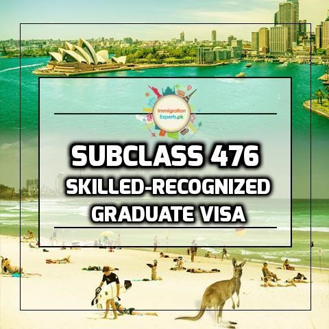 What is Subclass 476 Skilled-Recognized Graduate Visa