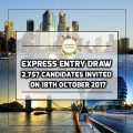 Express Entry Draw – 2,757 Candidates Received Invitation On 18th October