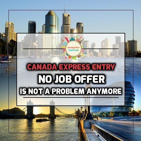 Having No Job Offer is not a Problem Anymore: A Confirmation by Latest Express Entry Report