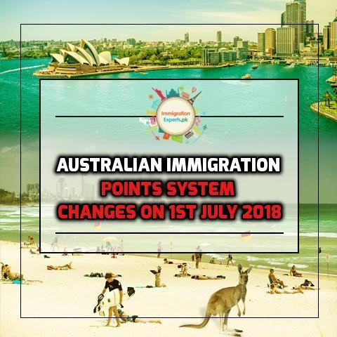 Australian Immigration Update - Points System Changes on 1st July 2018
