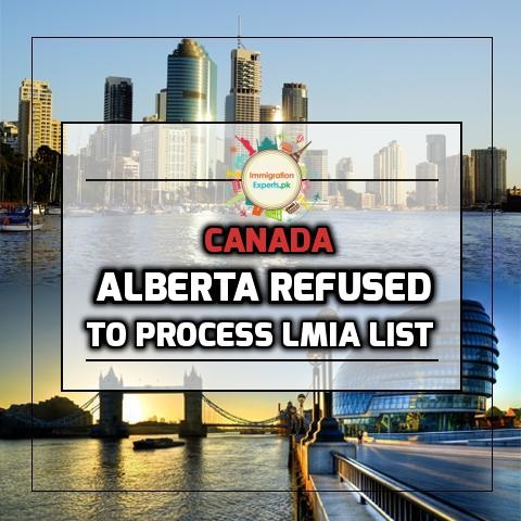 Refusal to Process LMIA List: Alberta Decreases the Number of Occupations to 24