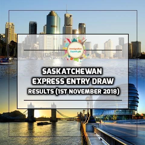 Saskatchewan Express Entry Draw - Points Requirement Dropped to 60 Points on 1st November Draw